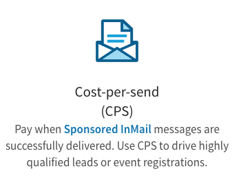 Cost per send