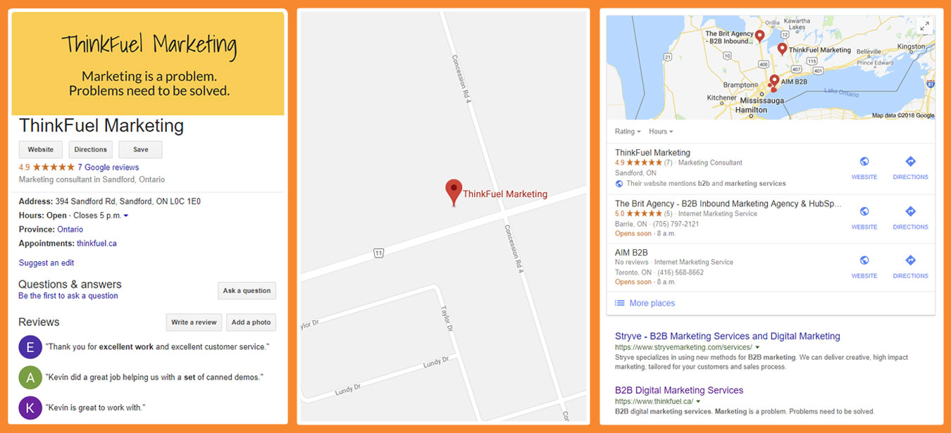 Local SEO with Google My Business Examples