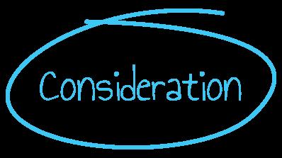 buyer's journey consideration