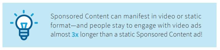 LinkedIn Sponsored Content Stats