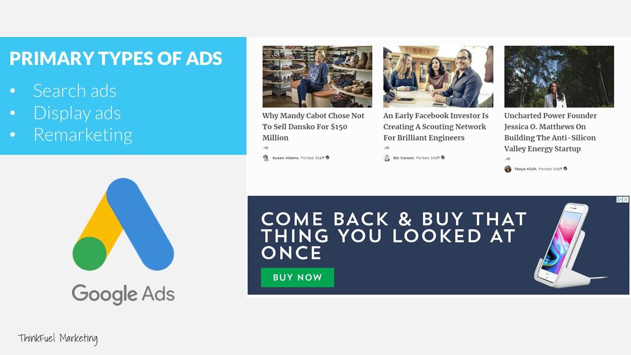B2B Pay Per Click Marketing Google Ads Examples