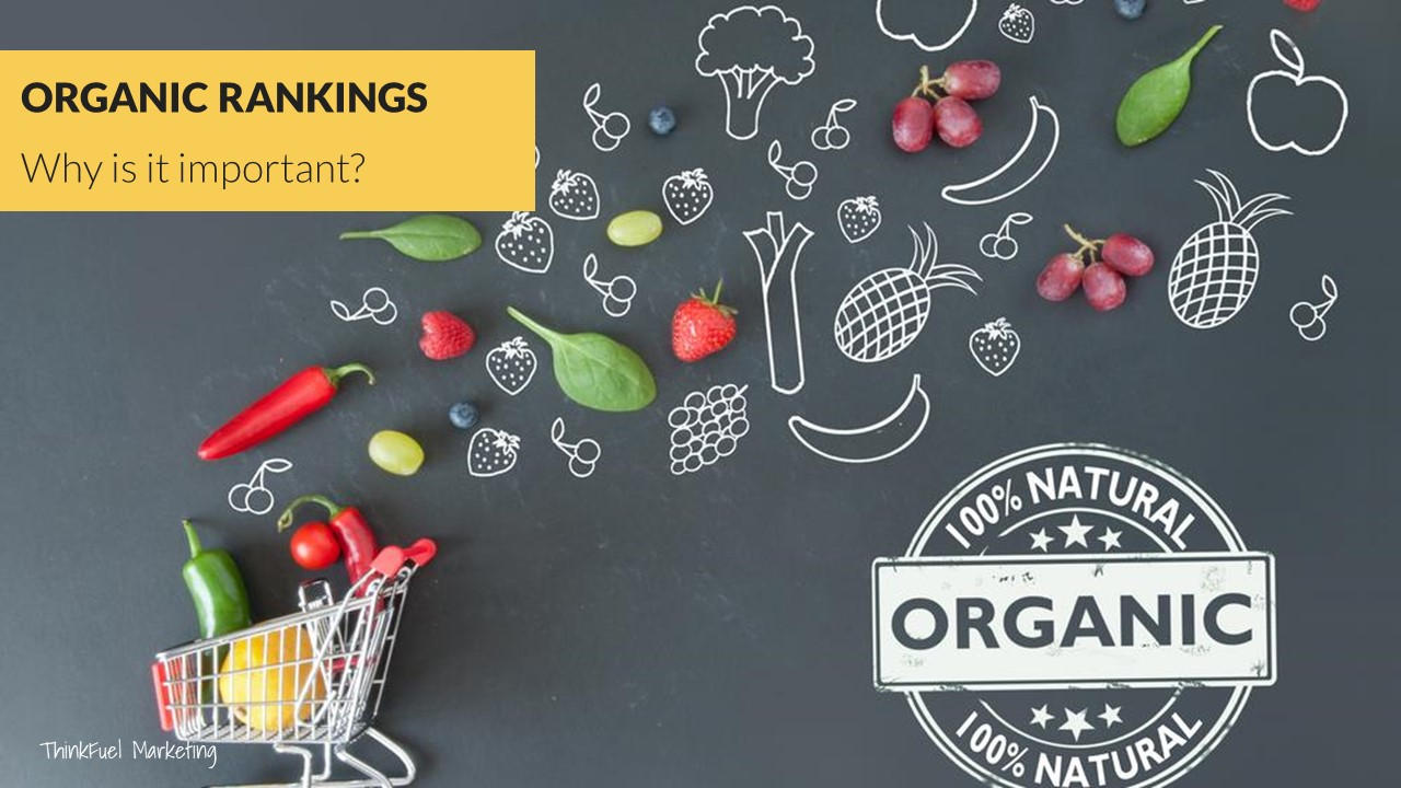 Organic Search Rankings