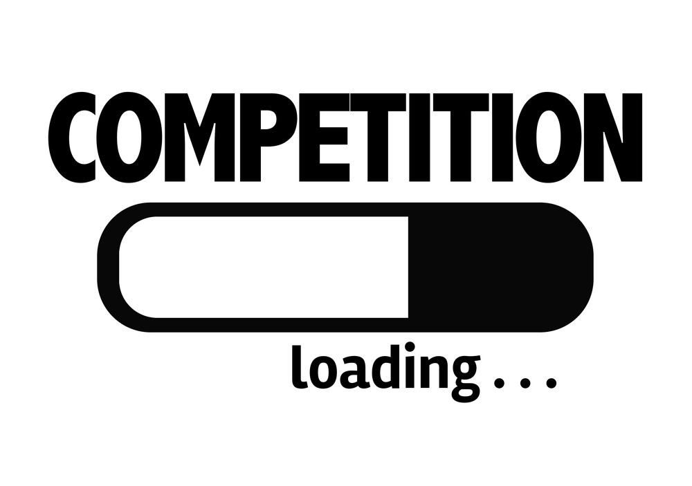 Progress Bar Loading with the text Competition